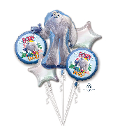 Smallfoot Bouquet Foil Balloon