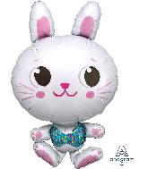 "34"" Funny Bunny SuperShape Foil Balloon"