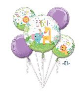 Fisher-Price Hello Baby Bouquet Foil Balloon