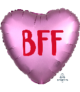 """18"""" Satin Infused BFF Foil Balloon"""