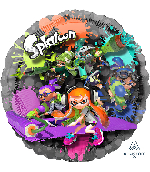 "32"" Splatoon Jumbo Panoramic Foil Balloon"