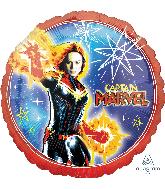 """18"""" Captain Marvel Foil Balloons"""