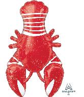 "39"" Seafood Lobster Fest Foil Balloon"