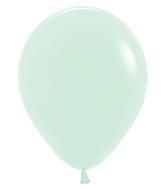 "11"" Betallatex Pastel Matte Green Latex Balloons (100CT)"