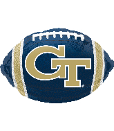 Georgia Tech Junior Shape Foil Balloon
