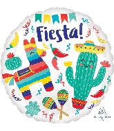 "18"" Fiesta Party Foil Balloon"