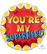 "18"" You're My Superhero Foil Balloon"