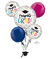 Bouquet YAY Grad Foil Balloon