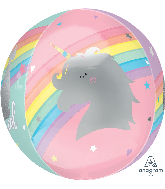 "16"" Orbz XL Magical Rainbow Foil Balloon"