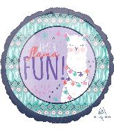"""18"""" Llama Fun Foil Balloon"""
