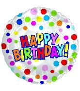 "17"" Happy Birthday Treat Balloon"