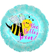 "18"" Be Better Bee Foil Balloon"