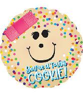 "17"" One Tough Cookie Foil Balloon"