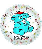 """17"""" Feel Better Soon Elephant!"""