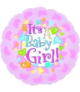 "9"" Airfill Baby Girl Footsies M34"