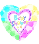18'' Baby Shower Quadrants