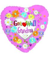 "18"" Get Well Grandma"