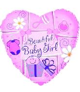 "4"" Airfill Beautiful Baby Girl M98"