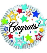 """18"""" Congrats Foil Balloon"""