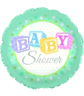 "18"" Baby Shower Foil Balloon"