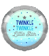 """18"""" Twinkle Twinkle Little Star Blue Boy"""
