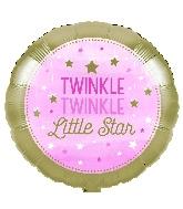 """18"""" Twinkle Twinkle Little Star Pink Girl"""