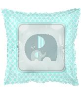 """18"""" Lil Peanut Boy Elephant Foil Balloon"""