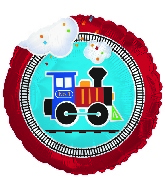 "18"" All Aboard Train Balloon (No Message)"