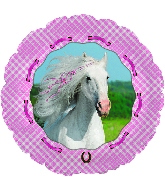 "18"" Heart My Horse Foil Balloon"