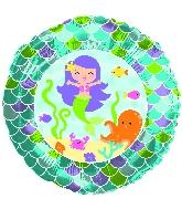 """18"""" Mermaid Friends Foil Balloon"""
