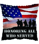 """17"""" Honoring All Who Served Balloon"""