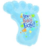 """30"""" It's a Baby Boy Foot"""