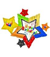 "46"" Happy Birthday Star Cluster"