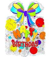"26""Happy Birthday Day Gift Balloons"