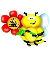 """36"""" Get Well Soon Bee B118"""
