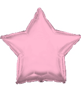 "17"" Rose Gold Star Balloon"