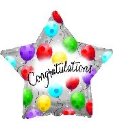 "17"" Congratulations Twinkling N Balloon"