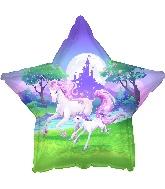 "18"" Unicorn Fantasy Foil Balloon"