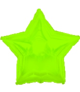 "4.5"" Airfill CTI Lime Green Star M156"