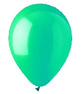 """9"""" Standard Turquoise Latex (100 Per Bag)"""