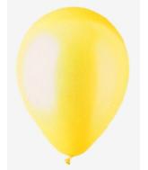 """9"""" Lemon Yellow Pearl Latex - 100 Ct Bag"""
