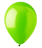 "12"" Standard Lime Green Latex (100 Per Bag)"