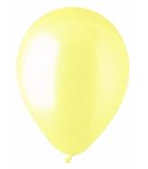 "12"" Standard Yellow Ivory/Vanilla Latex (100 Per Bag)"