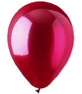 "5"" Crystal Red Latex 100 Per Bag"