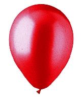 """9"""" METL Electric Red Latex (100 Per Bag)"""