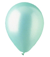 "5"" Pearl Seafoam Green Latex 100 Per Bag"