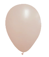 "12"" CTI Brand Matte Peach Sorbet Latex Balloon (100 Per bag)"