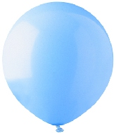 "17""  Standard Light Blue Latex 72 Count"