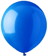 "17"" Standard Blue Latex 72 Count"