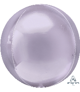"16"" Orbz Pastel Lilac Foil Balloon"